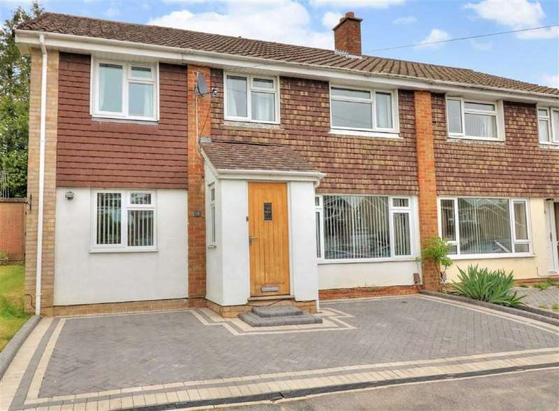 4 Bedrooms Semi Detached House for sale in Carisbrooke Crescent, Chandlers Ford, Hampshire