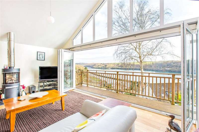4 Bedrooms Detached House for sale in Downs Hill, Golant, Fowey, Cornwall, PL23