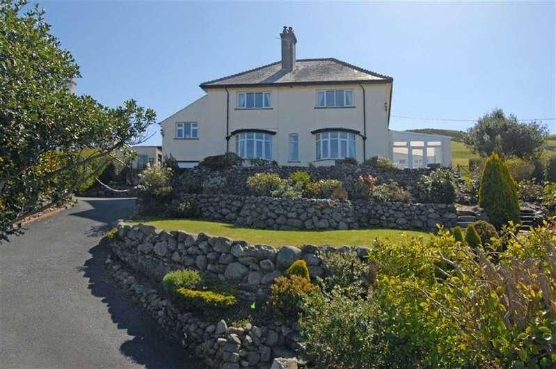 4 Bedrooms Detached House for sale in Trem Enlli, Llwyngwril, Gwynedd, LL37