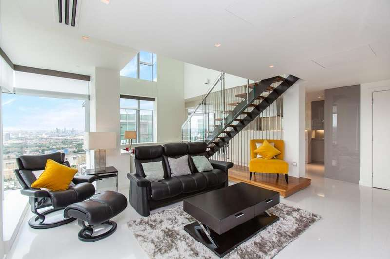 2 Bedrooms Apartment Flat for sale in East Tower, Pan Peninsula, Canary Wharf E14
