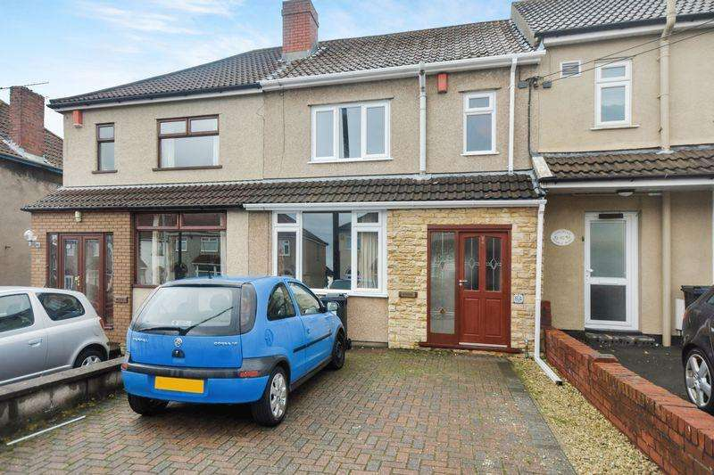 3 Bedrooms Terraced House for sale in Middle Road, Kingswood