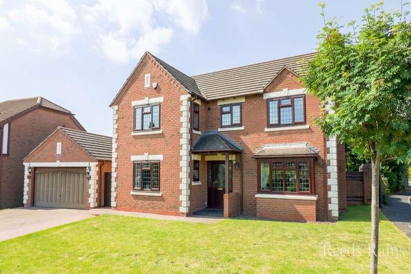 4 Bedrooms Detached House for sale in Bredon Close, Little Sutton, Ellesmere Port, CH66