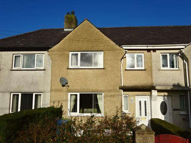 3 Bedrooms Terraced House for sale in MAES OGWEN, TREGARTH LL47