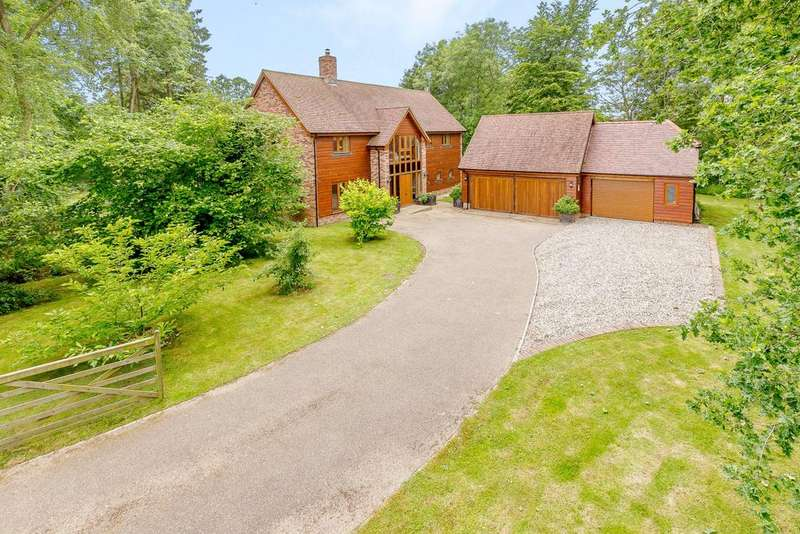 5 Bedrooms Detached House for sale in Ropewind, Shalbourne, Marlborough, Wiltshire