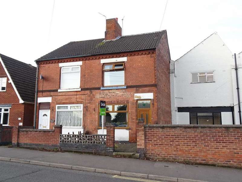 3 Bedrooms Semi Detached House for sale in Charnwood Road, Shepshed, Leicestershire