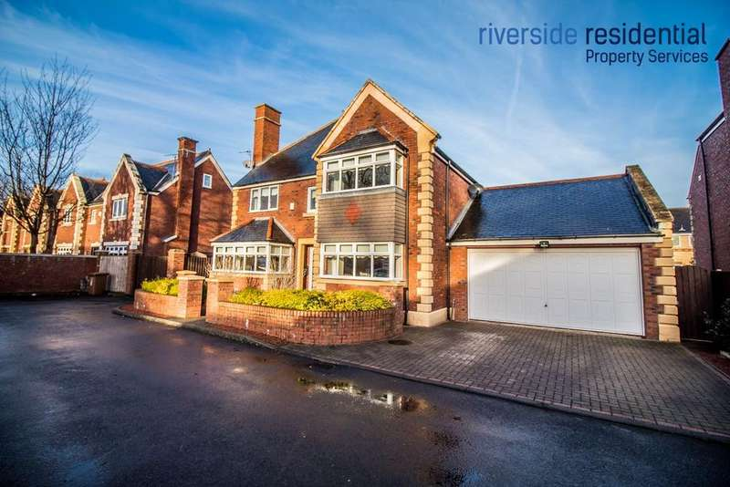 4 Bedrooms Detached House for sale in Usworth Hall, Usworth, Washington, Tyne And Wear
