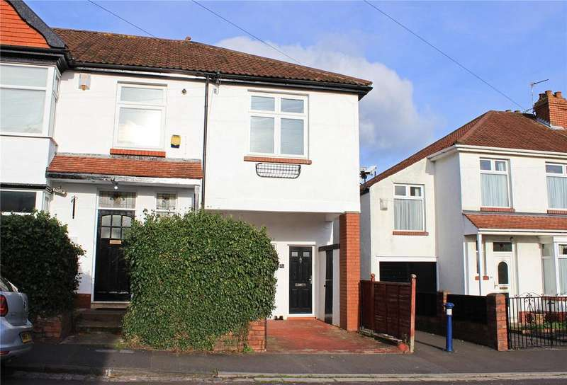 2 Bedrooms End Of Terrace House for sale in Highbury Road, Horfield, Bristol, BS7