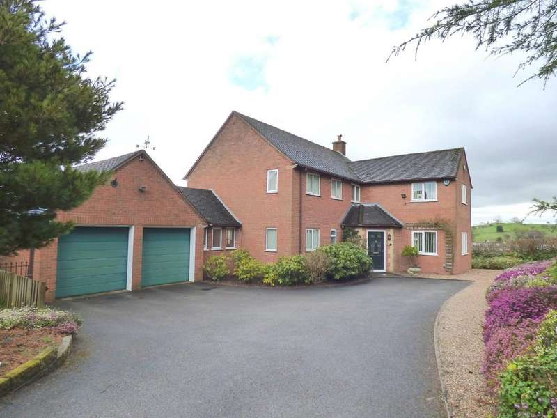 4 Bedrooms Detached House for sale in Belper Road, Ashbourne