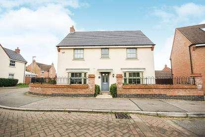 4 Bedrooms Detached House for sale in Butler Drive, Lidlington, Bedford, Bedfordshire