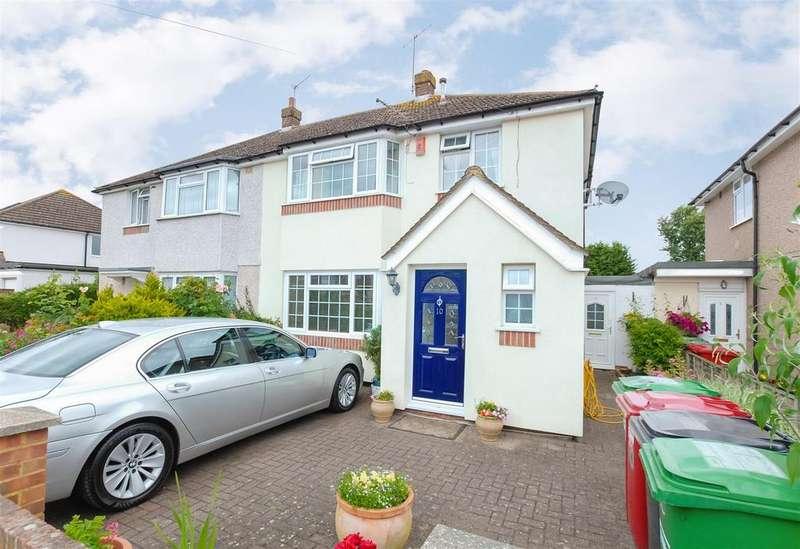 3 Bedrooms Semi Detached House for sale in Mercian Way, Cippenham
