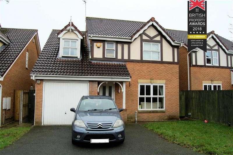 4 Bedrooms Detached House for sale in Barry Close, Ellesmere Port