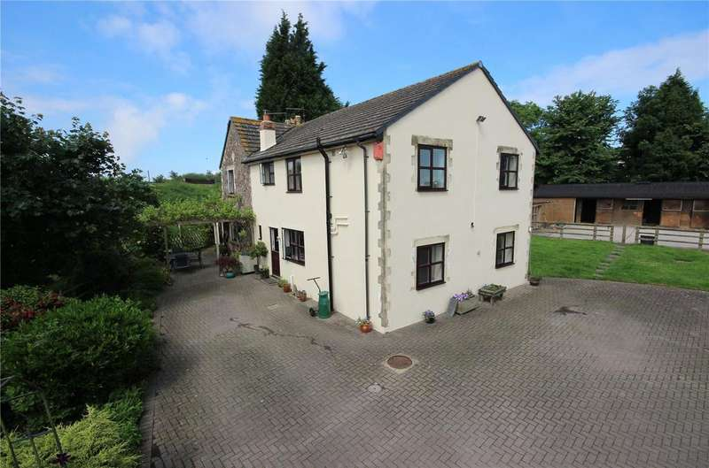5 Bedrooms Detached House for sale in Fir Tree House, Shaymoor Lane, Pilning, BS35