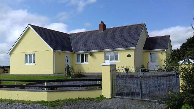 4 Bedrooms Detached Bungalow for sale in Caegwyn, Llangolman, Clynderwen, Pembrokeshire