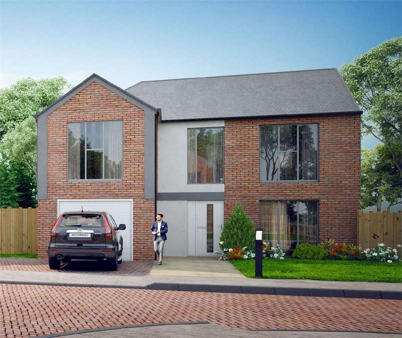 4 Bedrooms Detached House for sale in The Field Crest, Ditchling Road, Wivelsfield, East Sussex