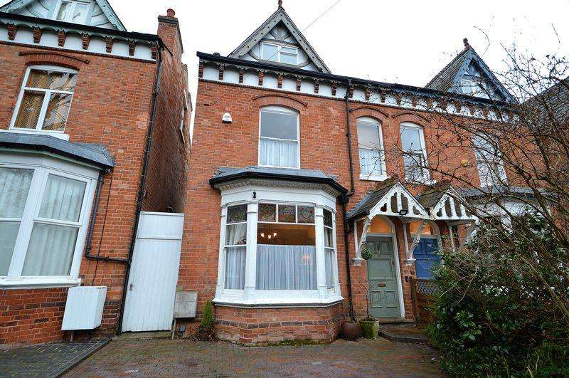 5 Bedrooms Semi Detached House for sale in Ashfield Road, Kings Heath, Birmingham, B14