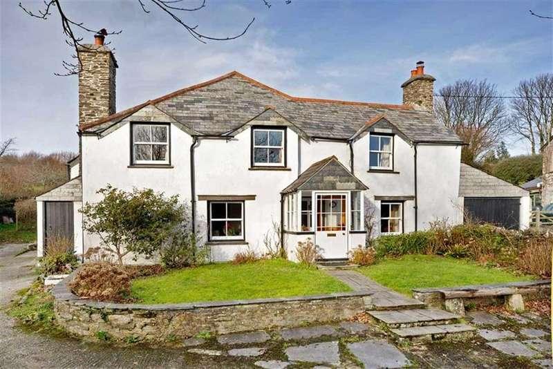 4 Bedrooms Detached House for sale in St Keyne, Liskeard, Cornwall, PL14