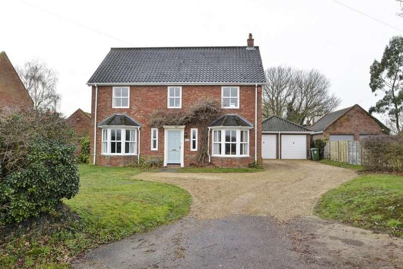 4 Bedrooms Detached House for sale in Woodton, Near Bungay, Norfolk