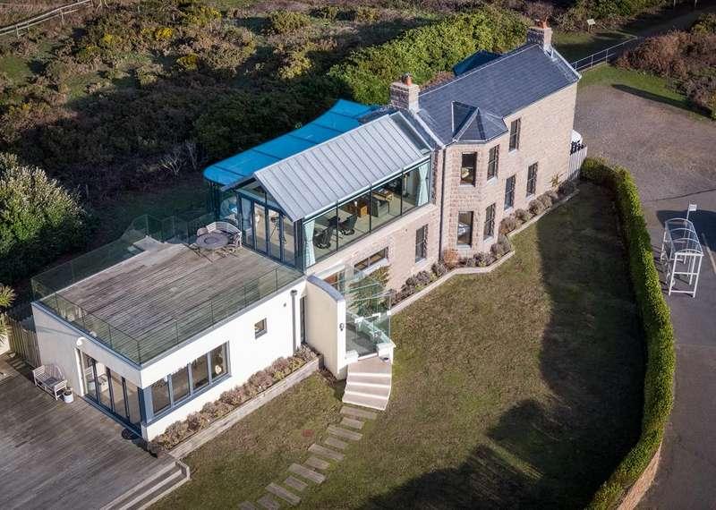 4 Bedrooms Detached House for sale in La Rue De La Corbiere, St. Brelade, Jersey