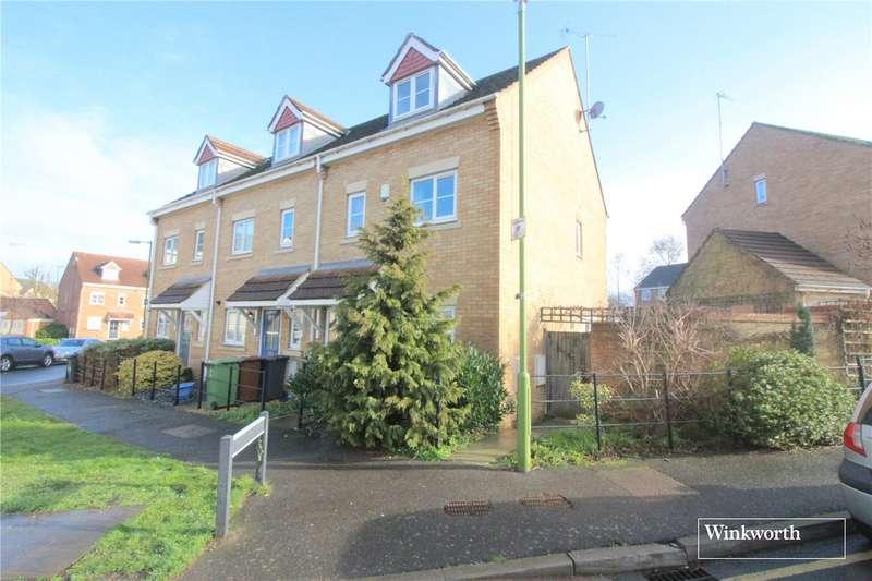 3 Bedrooms End Of Terrace House for sale in Coleridge Way, Borehamwood, Hertfordshire, WD6