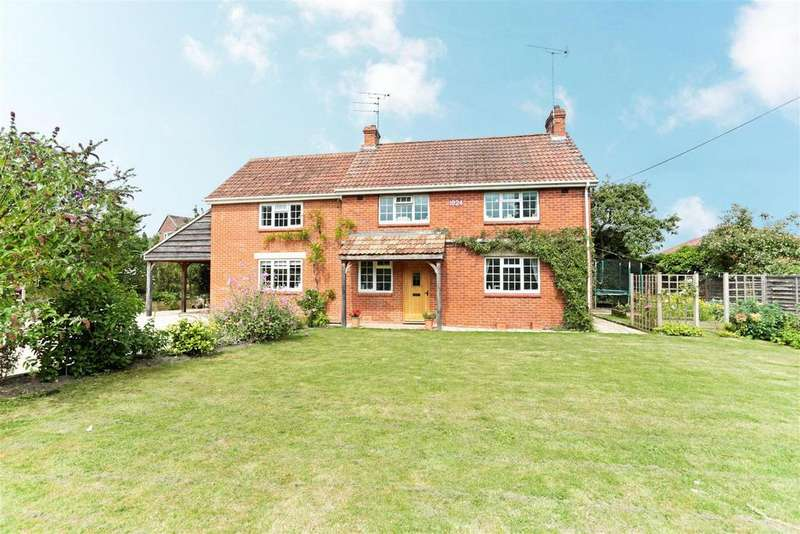 4 Bedrooms Detached House for sale in Wilcot Road, Pewsey, Wiltshire, SN9