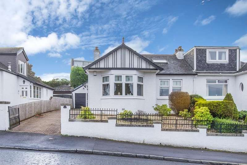 3 Bedrooms Semi Detached Bungalow for sale in 18 Hillend Road, Rutherglen, Glasgow, G73 4JX