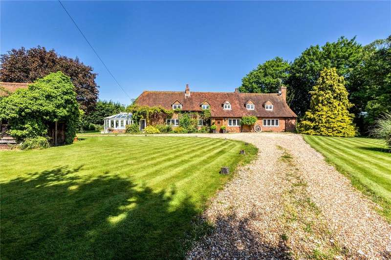 5 Bedrooms Detached House for sale in Waltham Road, Ruscombe, Reading, RG10