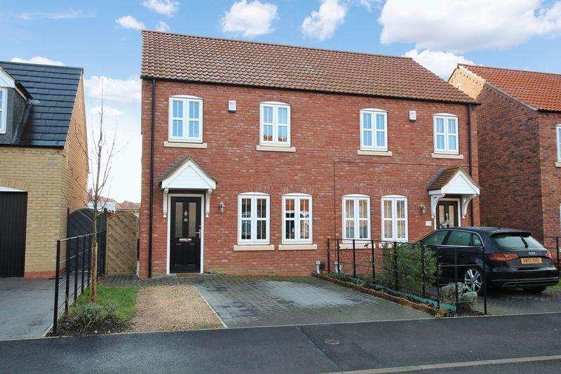 3 Bedrooms Semi Detached House for sale in 40 Rutland Avenue, Waddington