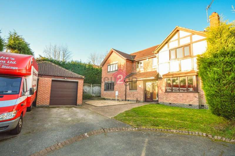 6 Bedrooms Detached House for sale in Owlthorpe Close, Mosborough, Sheffield, S20