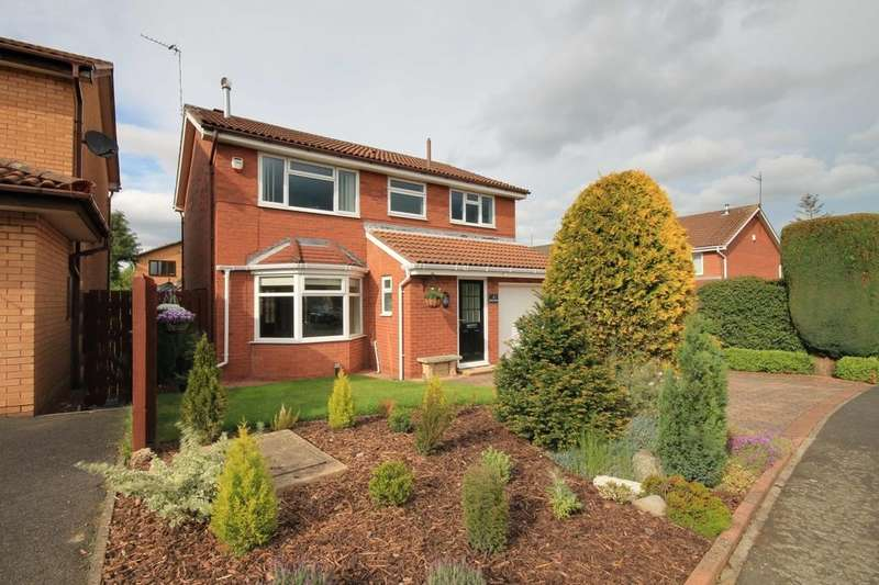 4 Bedrooms Detached House for sale in Cherry Banks, Chester Le Street, DH3