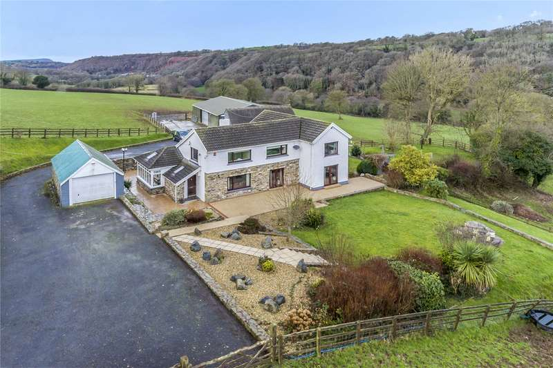 5 Bedrooms Detached House for sale in Glanduad Fach, Velindre, Crymych, Pembrokeshire