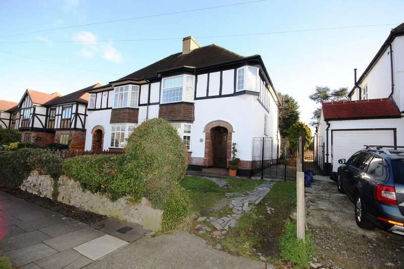 3 Bedrooms Semi Detached House for sale in Priory Avenue, Petts Wood, Kent