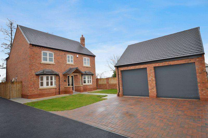 4 Bedrooms Detached House for sale in Primrose House, Rushmoor, Nr Telford, Shropshire.