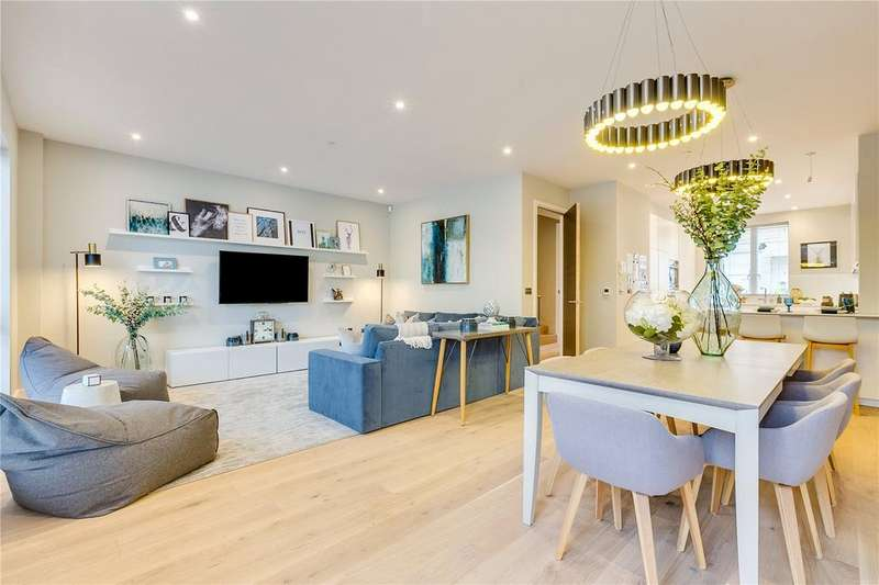 5 Bedrooms Terraced House for sale in Basilica Mews, Thurleigh Road, SW12