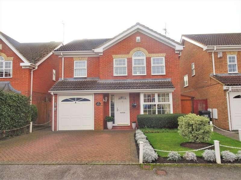 4 Bedrooms Detached House for sale in Crabtree Way, Dunstable, Bedfordshire, LU6 1UR