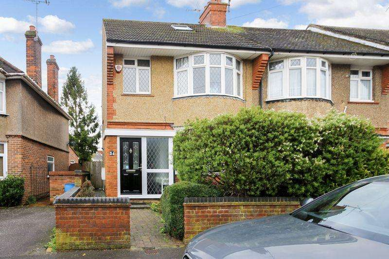 3 Bedrooms Terraced House for sale in Kingsley Road, Luton