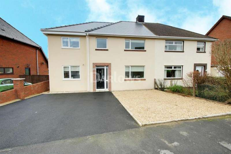 5 Bedrooms Semi Detached House for sale in Brentwood Place, Ebbw Vale, Blaenau Gwent