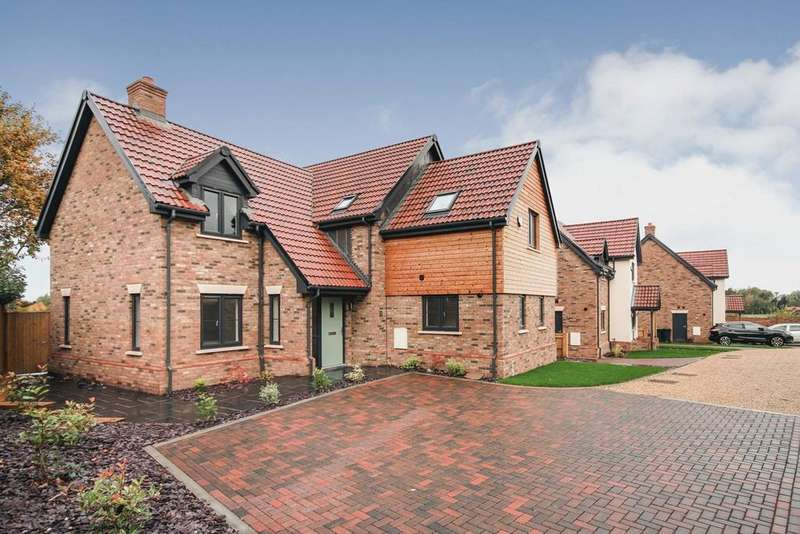 4 Bedrooms Detached House for sale in Pedley Lane, Clifton, SG17