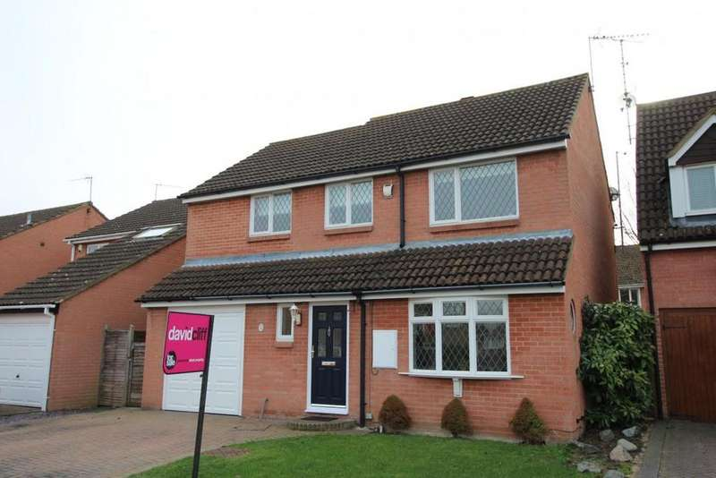 4 Bedrooms Detached House for sale in Kestrel Way, Wokingham, RG41