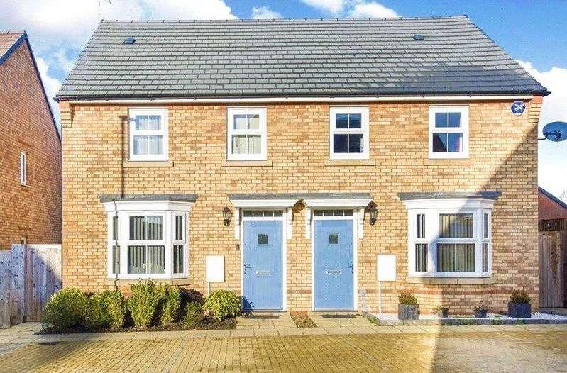 3 Bedrooms Semi Detached House for sale in Marcellus Way, Fairfields, Milton Keynes