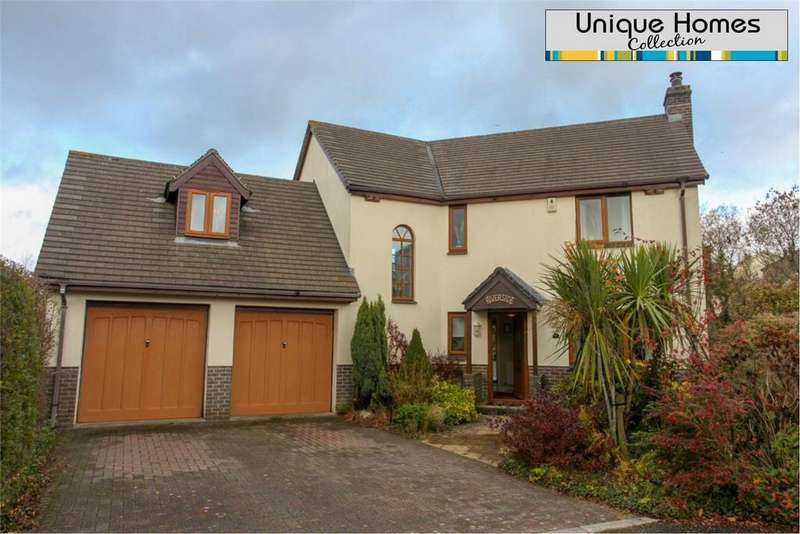 4 Bedrooms Detached House for sale in Rosevale Gardens, Luxulyan, BODMIN, Cornwall