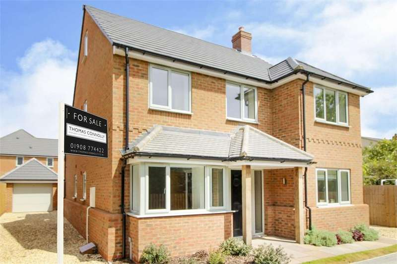 5 Bedrooms Detached House for sale in Cook Close, Morteyne Meadows , Marston Moretaine, Bedford MK43
