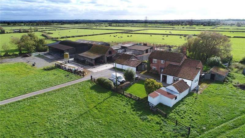 4 Bedrooms Barn Conversion Character Property for sale in Merry Lane, East Huntspill, Highbridge, Somerset, TA9