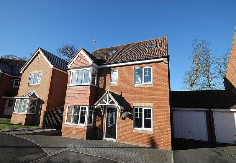 5 Bedrooms Link Detached House for sale in Coppice Mount, Crook