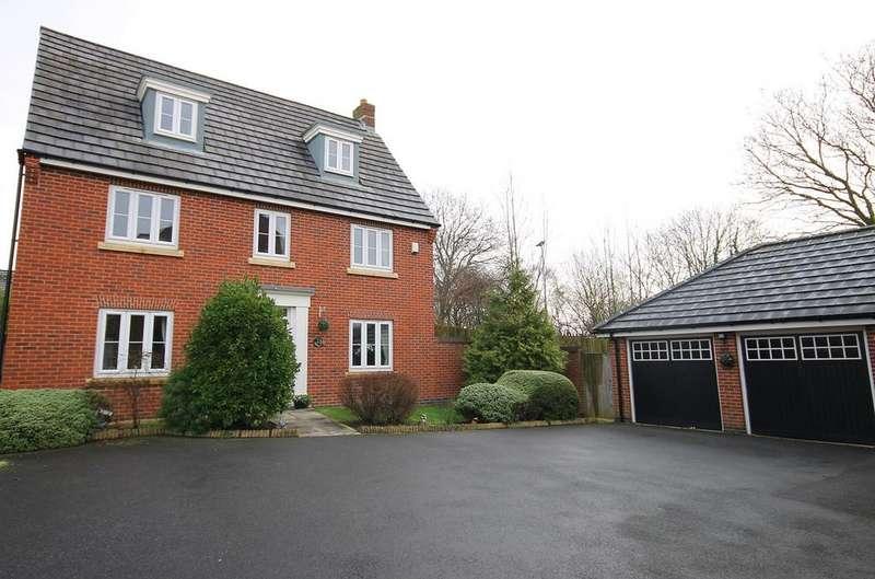 5 Bedrooms Detached House for sale in Ohio Grove, Great Sankey, Warrington, WA5