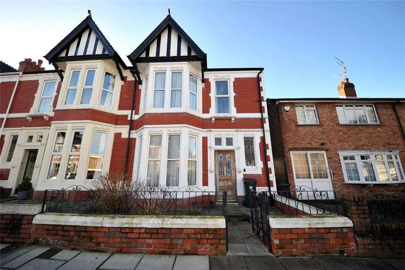 3 Bedrooms End Of Terrace House for sale in Roath Court Road, Roath, Cardiff, CF24