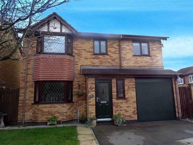 4 Bedrooms Detached House for sale in Ellison Close, Stoney Stanton