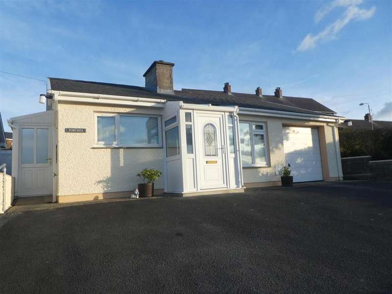 3 Bedrooms Detached Bungalow for sale in Ffosyffin, Aberaeron