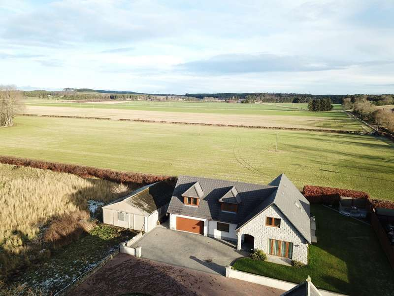5 Bedrooms Detached House for sale in St. Andrews House, Sheriffston, Elgin, Moray, IV30