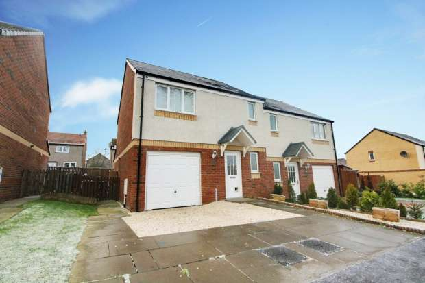 3 Bedrooms Semi Detached House for sale in Woodmill Grove, Dunfermline, Fife, KY11 4JR