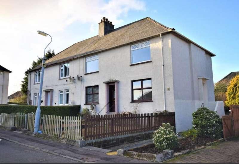 2 Bedrooms Ground Flat for sale in Bellevue Road, Kilmarnock, Ayrshire KA1